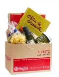 il cesto regalo con i prodotti della puglia